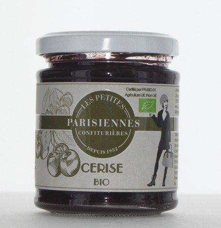 Délicieuse confiture Bio Les Petites Parisiennes saveur Cerise
