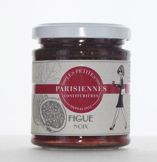 Savoureuse confiture Les Petites Parisiennes goût Figue Noix