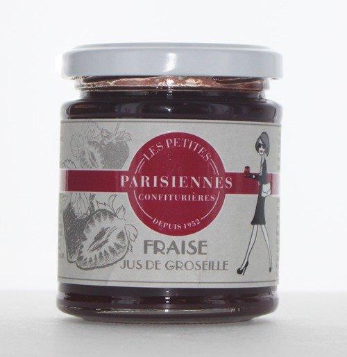 Savoureuse confiture Les Petites Parisiennes goût Fraise