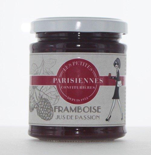 Savoureuse confiture Les Petites Parisiennes goût Framboise