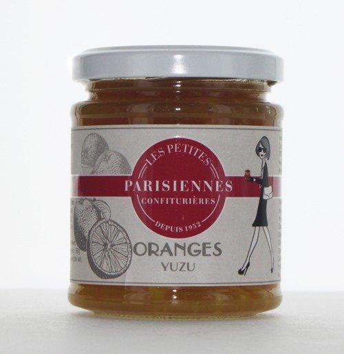 Savoureuse confiture Les Petites Parisiennes goût Orange Yuzu