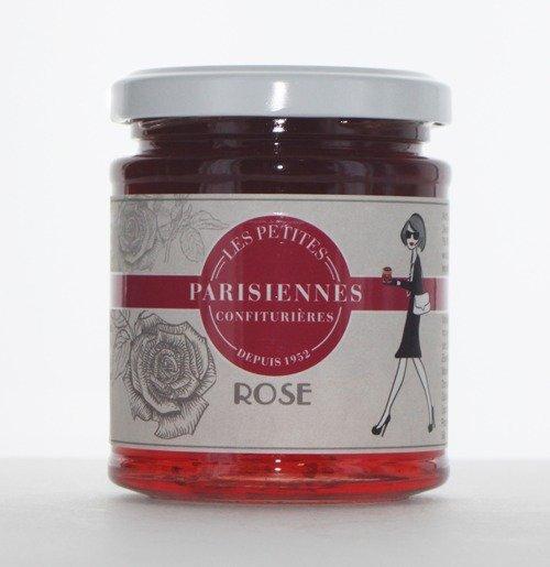 Savoureuse confiture Les Petites Parisiennes goût Rose