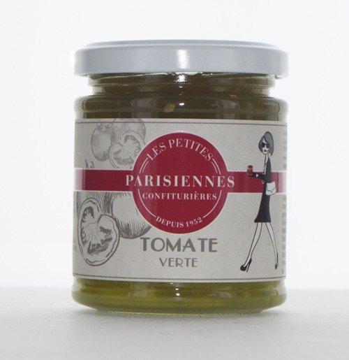 Savoureuse confiture Les Petites Parsiennes goût Tomate Verte