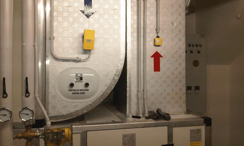impianto area condizionata