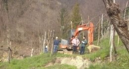 scavi su terreni