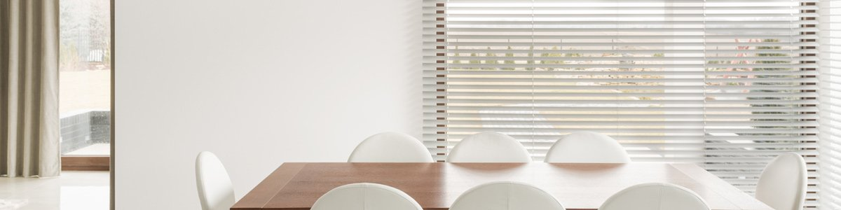 blind magic blinds near dinning table