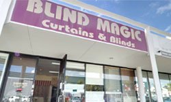 blind magic office