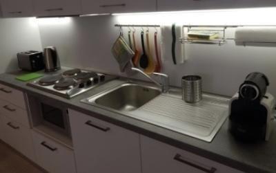 Appartamento zona cucina