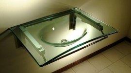 Lavandino in cristallo