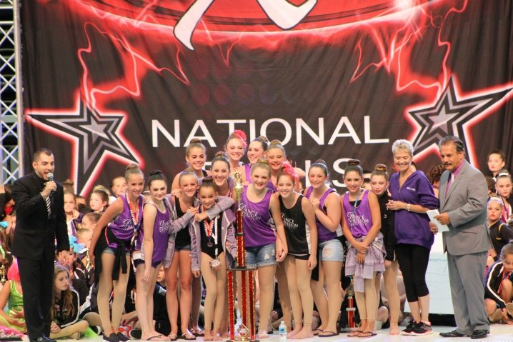 Dancers at National Competition