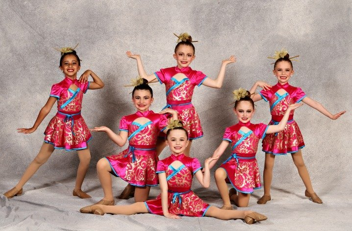 Six Young Dancers Picture