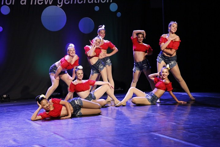 Dancers at Recital