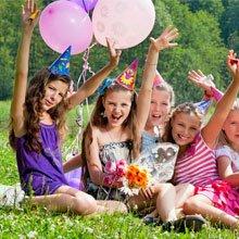 happy bunch of children