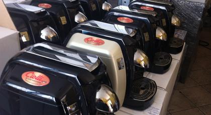 assortimento macchine espresso a marchio CIOLLI