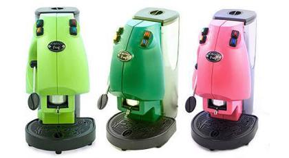 macchine espresso di diversi colori