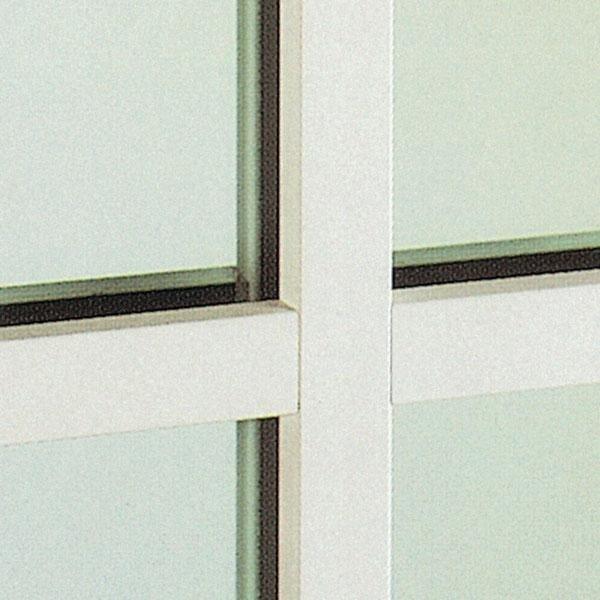 Inglesine esterno vetro in PVC