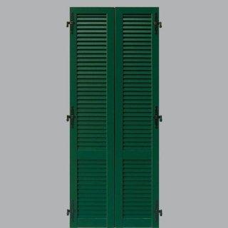 Persiana in alluminio laccato verde
