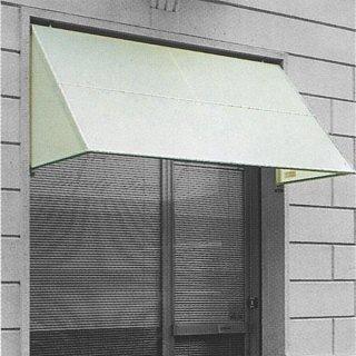tenda a capottina in poliestere con rifinitura bianca