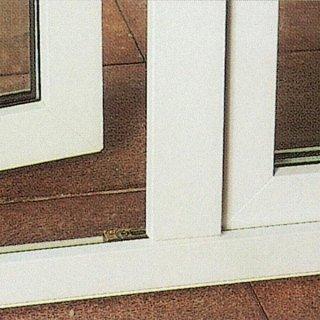 Soglia con telaio in PVC per portafinestra