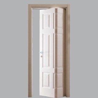 Porta per interno pieghevole bianca