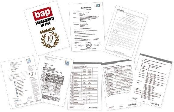 certificazioni Bap srl Brescia