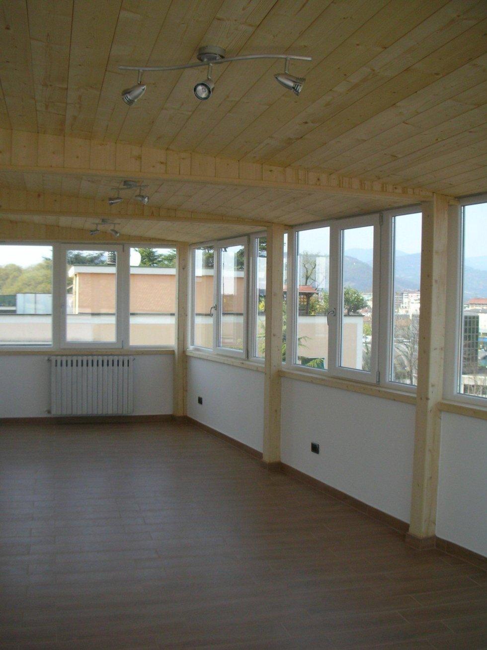 Progettazione veranda Brescia