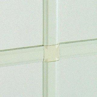 Inglesine interno vetro in alluminio laccato