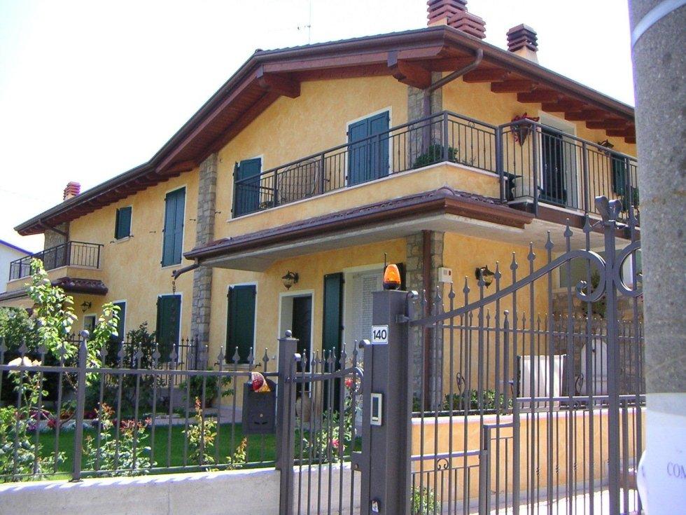 Progetto villa quadrifamigliare
