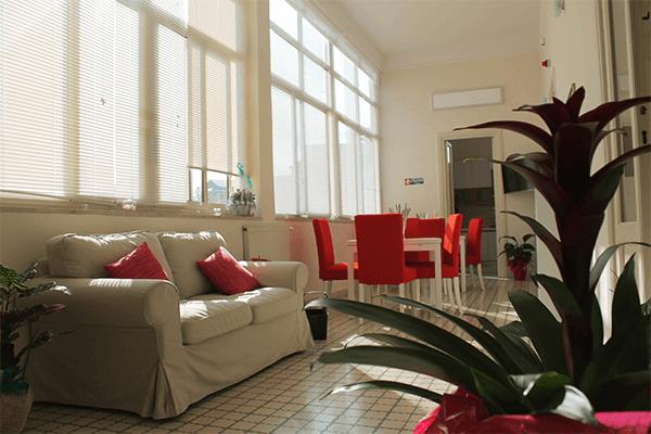 alloggi con area relax