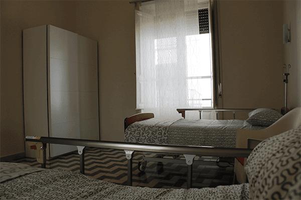 camere singole e doppie