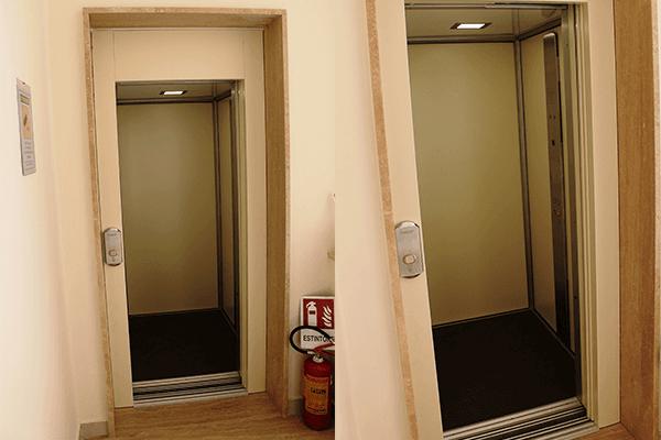 ascensore per anziani