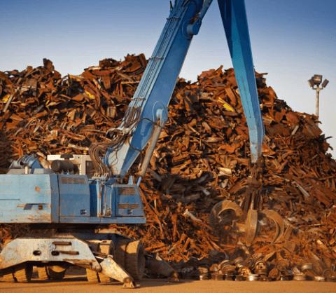 recupero di rifiuti metallici,