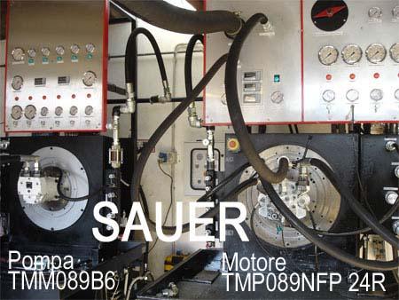 delle pompe e motori Sauer