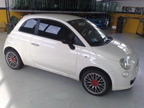 Fiat 500 vetri oscurati