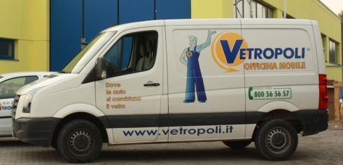 Officina mobile Vetropoli