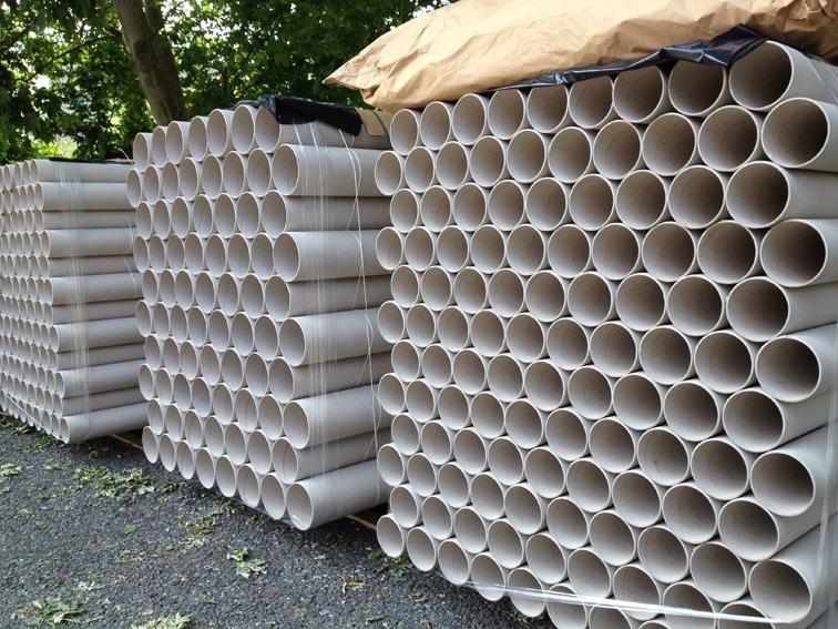 Produzione tubi di cartone