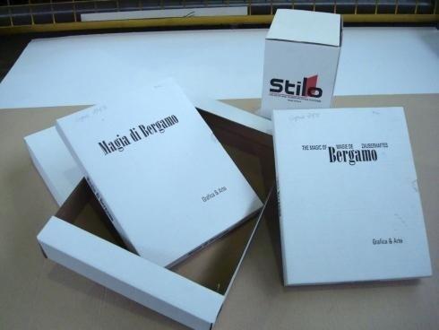 scatole fustellate per libri