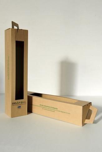 scatole fustellate per bottiglie