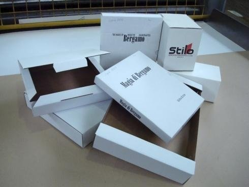 scatole fustellate da spedizione