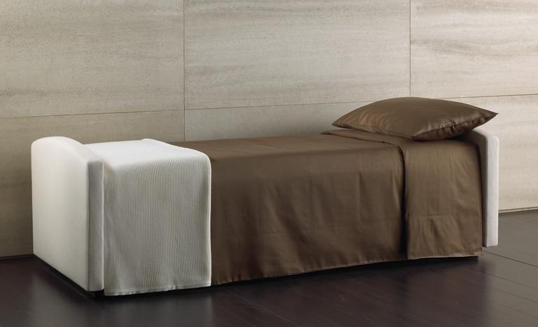 divano letto singolo aperto