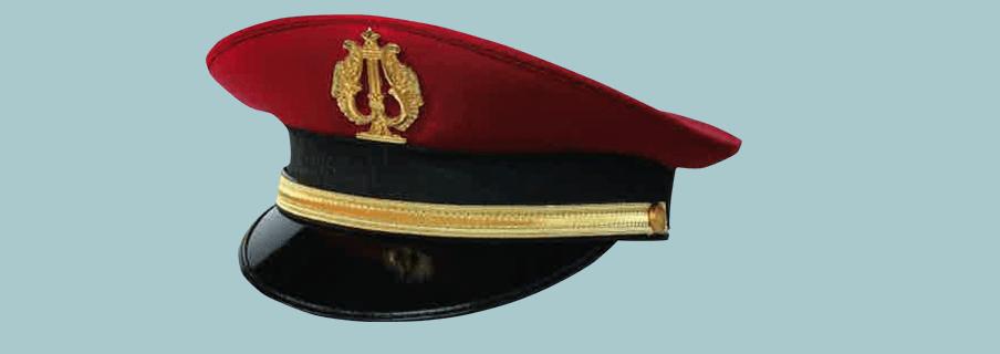berretti per ufficiali, divise con berretti