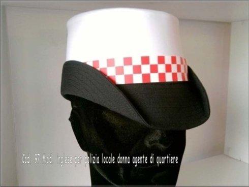 berretti polizia, berretti militari, berretti per vigili urbani