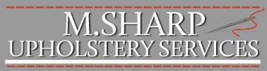 M Sharp Upholstery Services logo