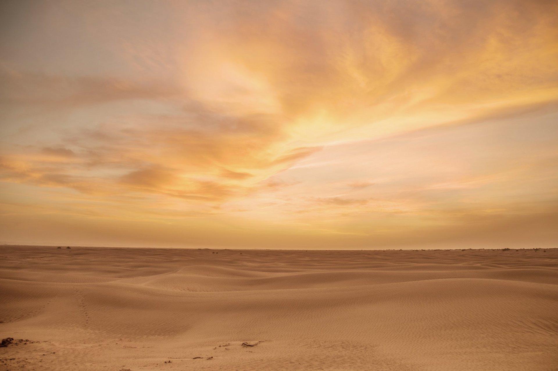 panorama deserto