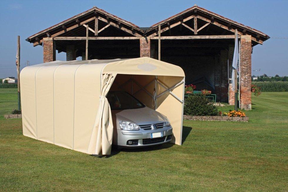 Box auto e gazebo modena euroflex for Gazebo per auto usato