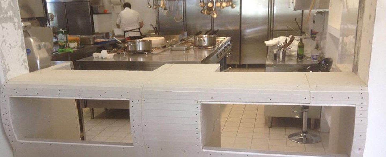 cucina industriale attrezzata