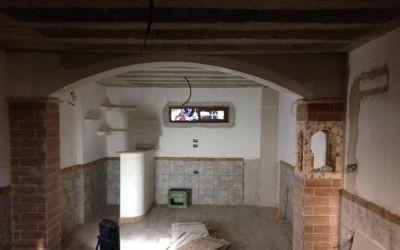 soffitto rustico