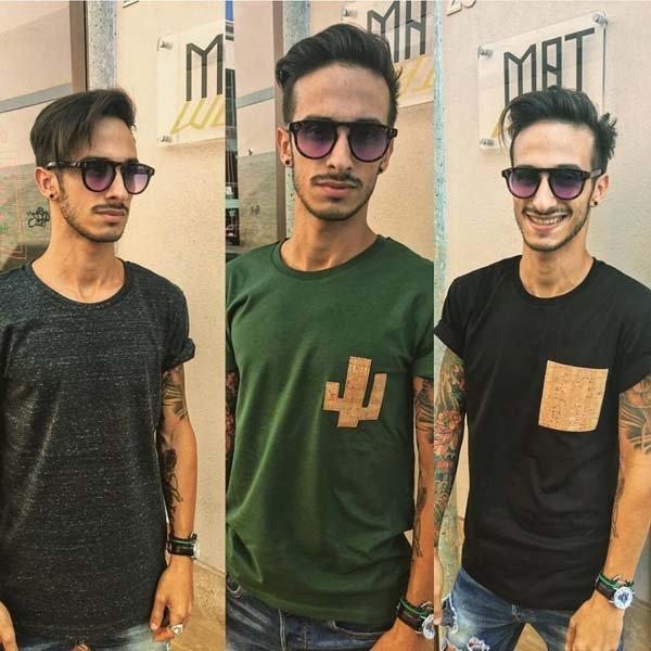 modelli con diversi tipi di maglie