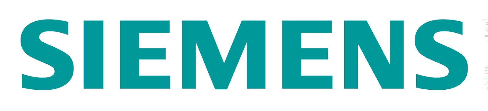 Un logo siemens