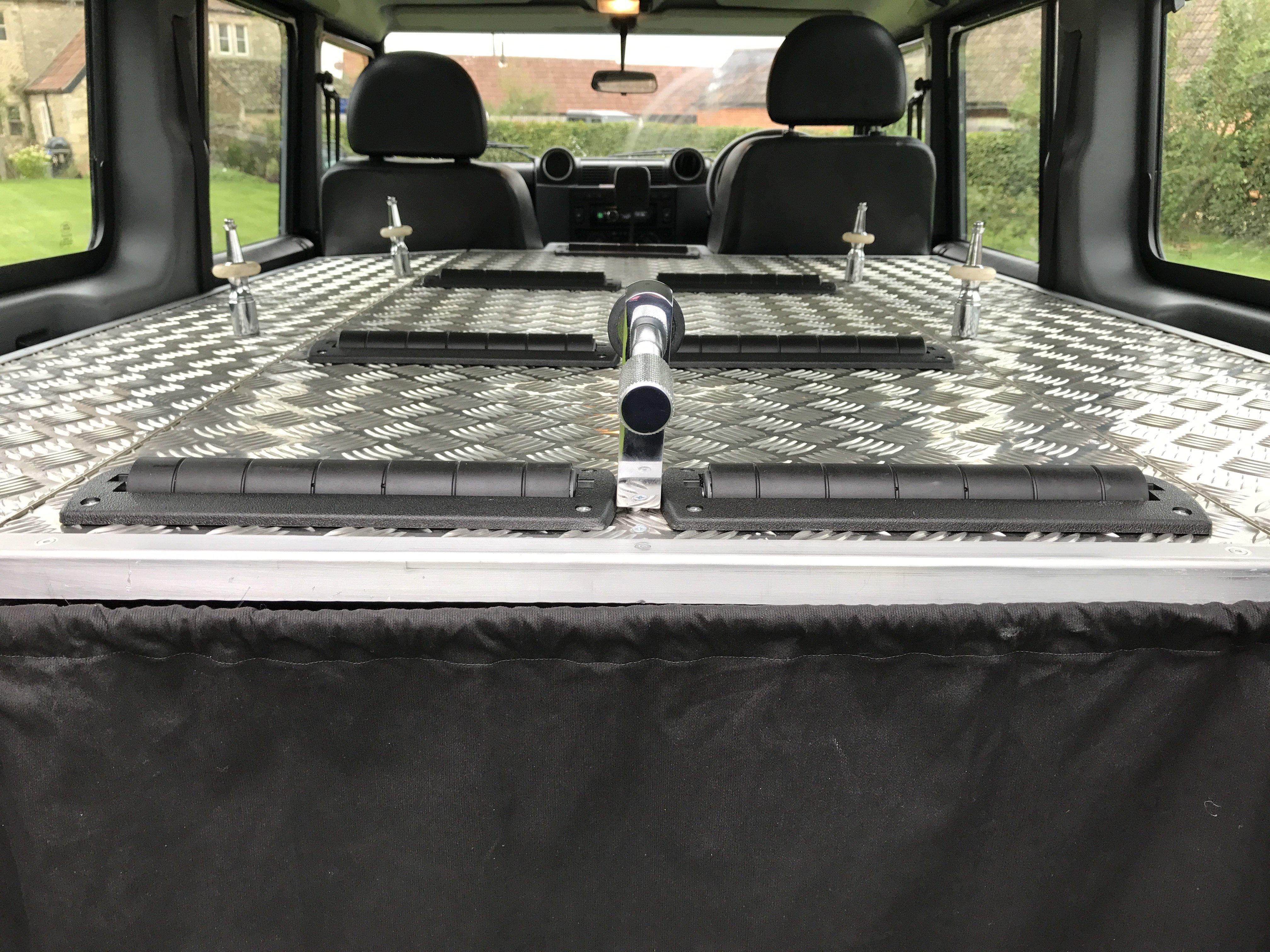 land rover defender hearse